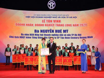 Lễ tôn vinh doanh nhân, doanh nghiệp Thăng Long năm 2020