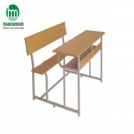 Bàn liền ghế 2 chỗ ngồi dùng cho học sinh