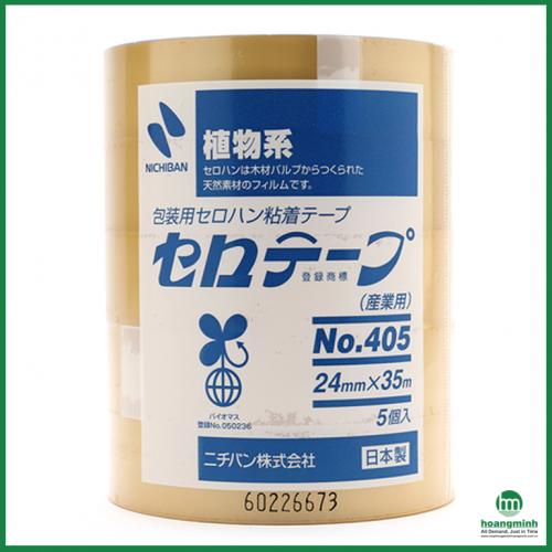 Băng dính Nichiban 405 24mm x 35m
