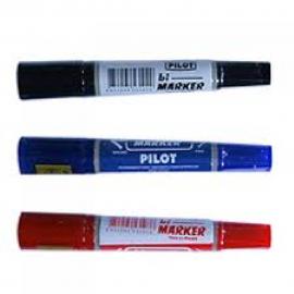Bút dạ dầu pilot không xoá được( nét to 2 đầu )
