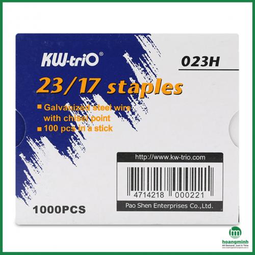 Ghim dập KW-triO 23/17 023H (Dập được 140 tờ)