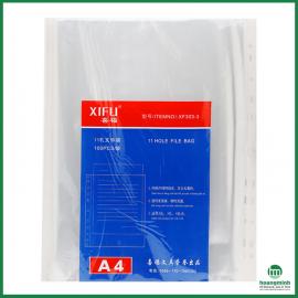 Sơ mi đục lỗ XiFu XF303-3 A4 (Tập 100 tờ)