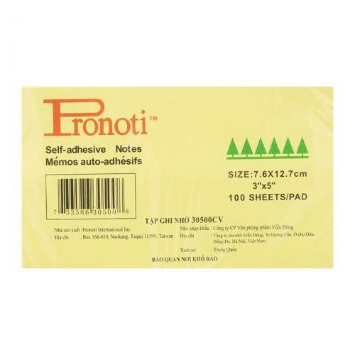 Giấy note Pronoti 30500CV 7,6 x 12,7cm