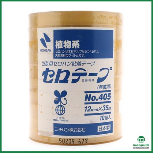 Băng dính Nichiban 405 12mm x 35m
