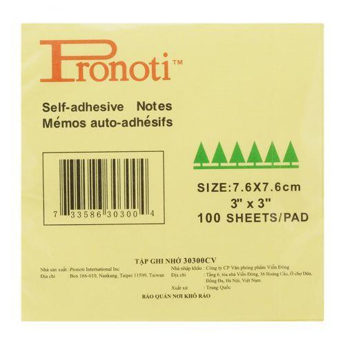 Giấy note Pronoti 30300CV 7,6 x 7,6cm