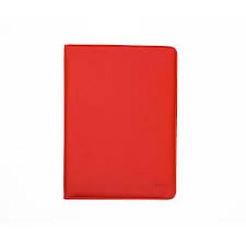 Trình ký da 868 khổ A màu đỏ
