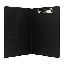 Trình ký da 868 khổ A màu đen